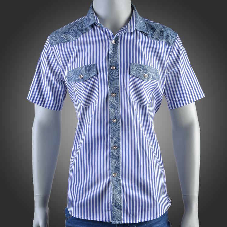 2015-new-summer-short-sleeve-font-b-shirt-b-font-cotton-leisure-font-b-shirt-b